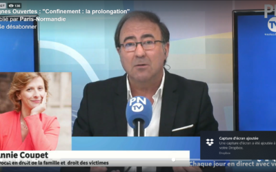 MAÎTRE ANNIE COUPET EN DIRECT DANS PN TV